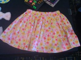 Fairy kei star skirt by jely-claris-anne