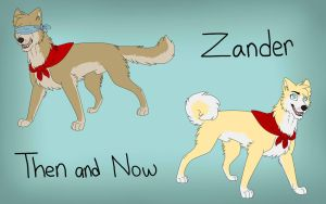 Then And Now : Zander by Mana-ghostwolf