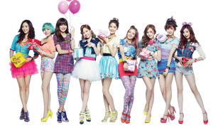 Girls Generation PNG Render by GAJMEditions