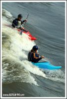 White water kyaking 02 by RedCathedral