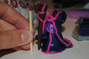Lulu in fimo clay by TheEmpa