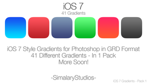 iOS 7 Gradients 1 by simalary44