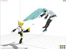MMD - Falcon Kick by ToaJahli