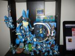 Lucario's Other Half by doryphish333