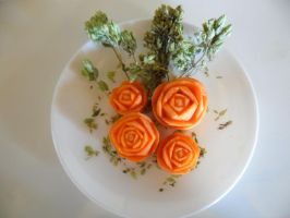 Carrot roses by MargaFA-PORTUGAL