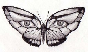 Butterfly by fishmittens