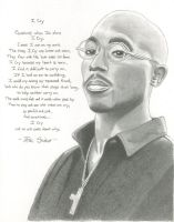 2pac + Poem 1 by youngEY