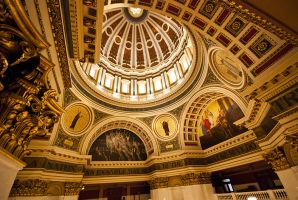 State Capitol 1 by Kuldip