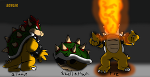 Flipnote Battle: Bowser by Gaming-Master