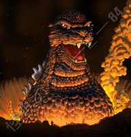 The Return of Godzilla (1984) by kaijugroupie84
