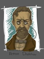 the great Anton Chekhov by SIGMARK