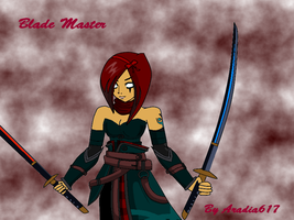 AQ Worlds: Blade Master by Aradia617