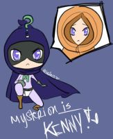 Kenny IS Mysterion by Juu-B