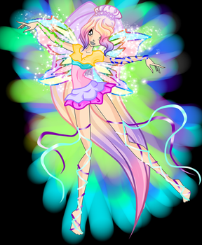 NOELLE FAIRY OF COLORS by caboulla