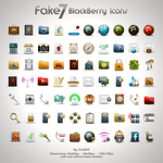 Fake7 BlackBerry Icons by CrazEriC