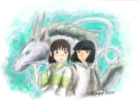 Spirited Away by vivsters