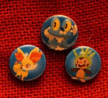 Kalos Mystery Button Set by TheMadCrafter