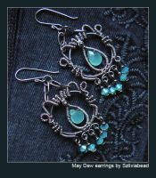 May Dew earrings by bodaszilvia