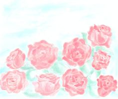 roses by tsubasachroniche