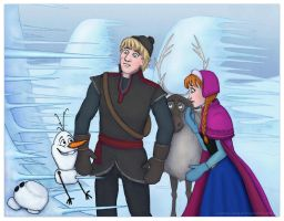 Frozen - Icicles by Loony-Lucy