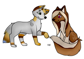 Gypsy and friend by Letipup
