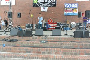 Puerto Rican/Latin Festival, Singing With Passion by Miss-Tbones