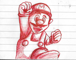 Mario Doodle by angelswake-tf