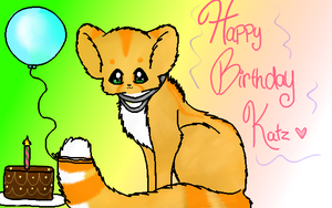 Happy Birthday Katz! by Sweetnminty
