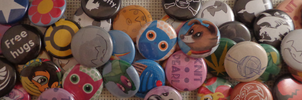 Buttons Galore! by MermaidSoupButtons