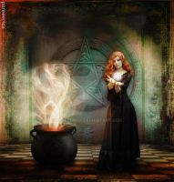 Spell of The Pentacle by pareeerica