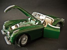 Jaguar XK120 III by 5haman0id