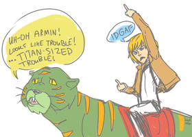 ARMIN HAS THE POWAAAAAAAAAA by LikeNo