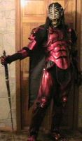 more red demon armor by DarkAsylumxxx