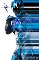 Mighty Morphin Blue Ranger by MrWonderWorks