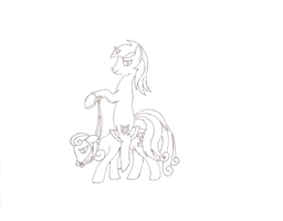 NATGII Day 13 - A Pony in Command/in the Lead by Jezendar