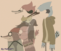 Death Bear_regular show by IHopeYourLove18