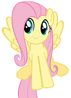 My First Vector (Fluttershy) by fallingcomets