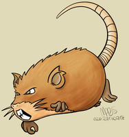 020: Raticate by Mabelma
