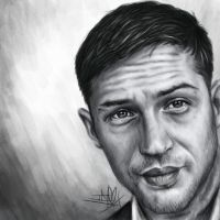 Tom Hardy by TheTanyaDoll