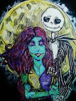 Jack and Sally by Panicatthedisco7
