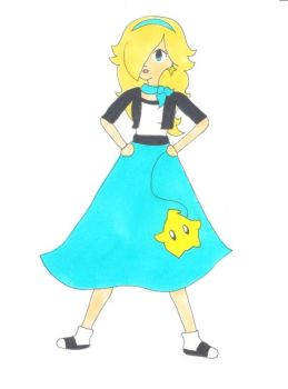 50s Rosalina Doodle by AnimeGang