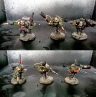 More Failcast Ork Nobz by orcbruto