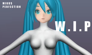 PROJECT DIVA Mikus Perfection WIP by chatterHEAD