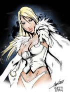 Emma Frost - Colored by HCrumbz