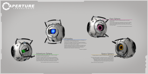 Portal 2 Cores by Titch-IX
