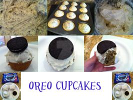 Double Stuffed Oreo Cupcakes by LuffyNoTomo
