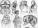 Giuliano Giovanni sketches by fabiocralves
