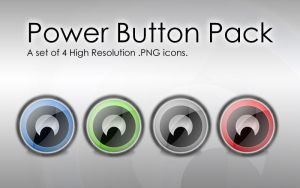 Power Button Icon by johnamann