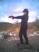 Me Shooting Stock 3 by ChaosStock