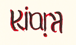_Kiara_ ambigram by and-amore